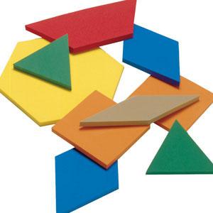 Pattern blocks clipart 4 » Clipart Station.