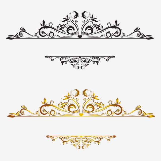 Vintage Border, Lace, Lace, Pattern Border PNG and Vector.