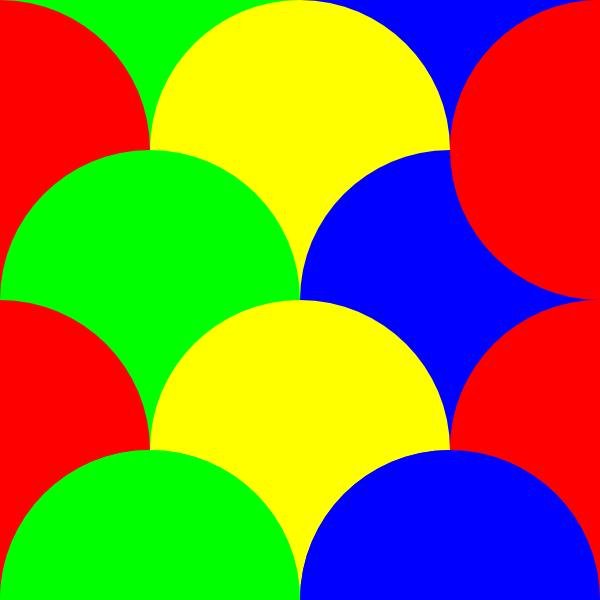 Circles 4 Pattern clip art Free Vector / 4Vector.