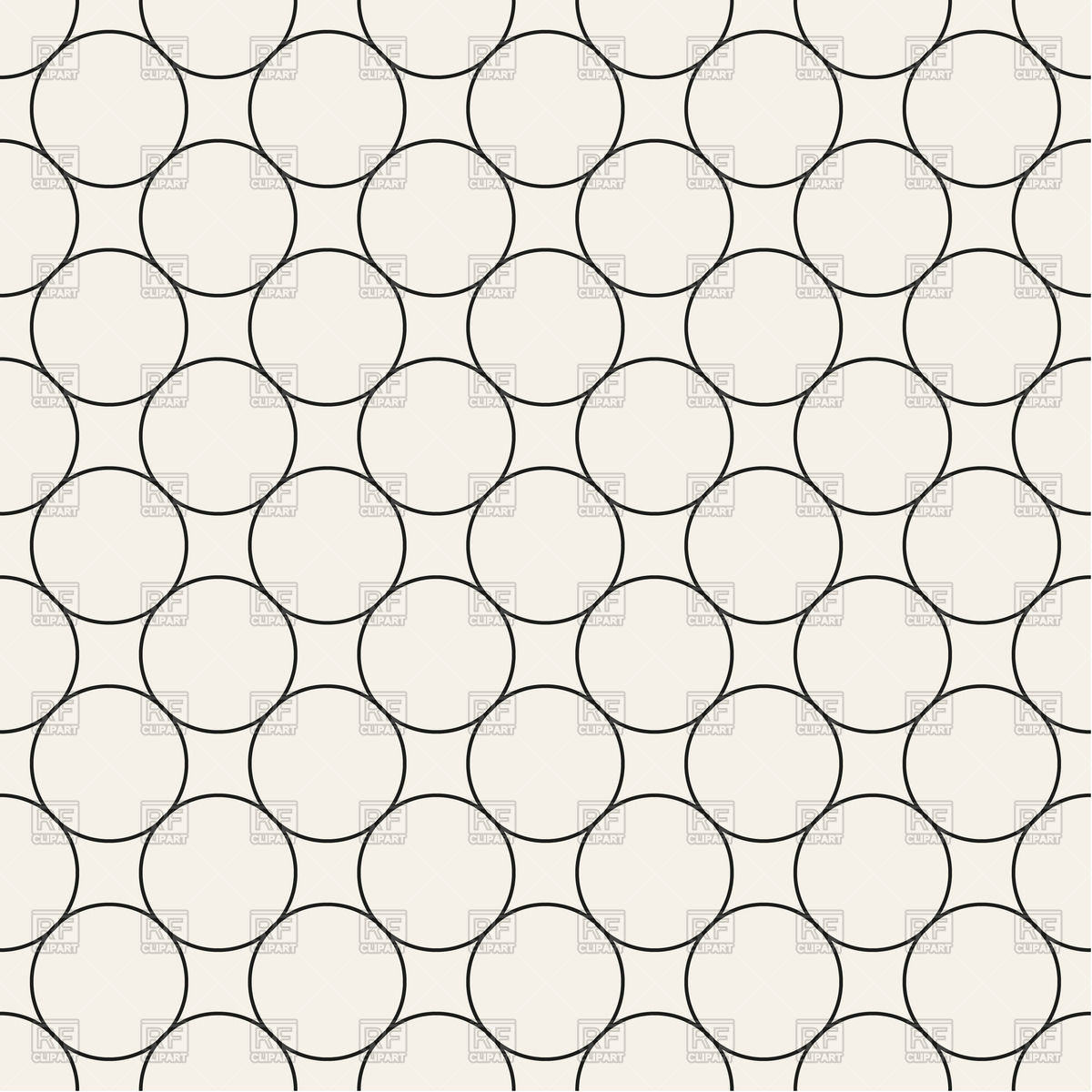 Seamless pattern with circles Vector Image #70554.