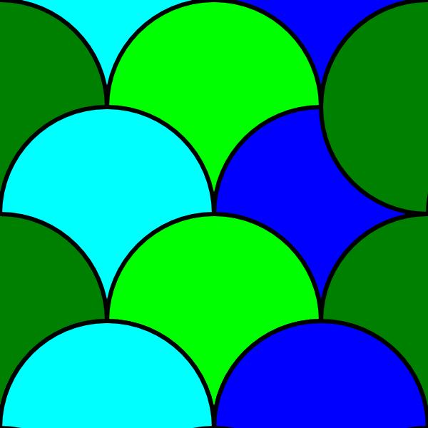 Circles Tile Pattern Clip Art at Clker.com.