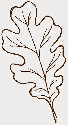 Fall Leaf Pattern Printables.