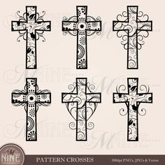 Free Silhouette Patterns.