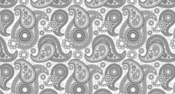50+ Black and White Patterns.