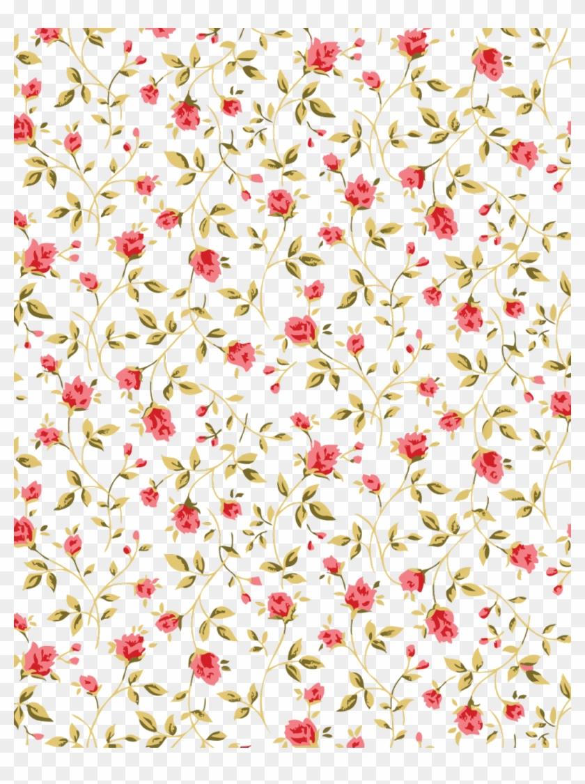 Transparent Flower Pattern.