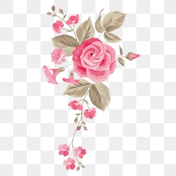 Floral Design Png, Vector, PSD, and Clipart With Transparent.