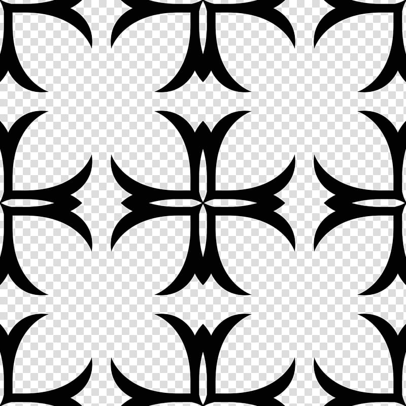 Gothic patterns, black tribal pattern transparent background.