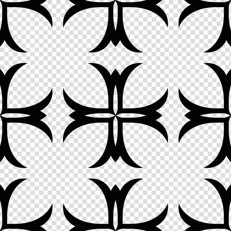Gothic patterns, black tribal pattern transparent background.