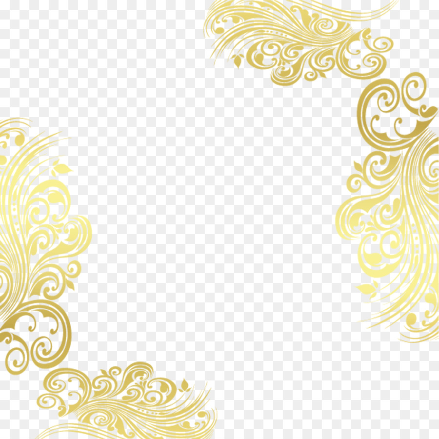 Download Free png Pattern Gold decorative patterns png.