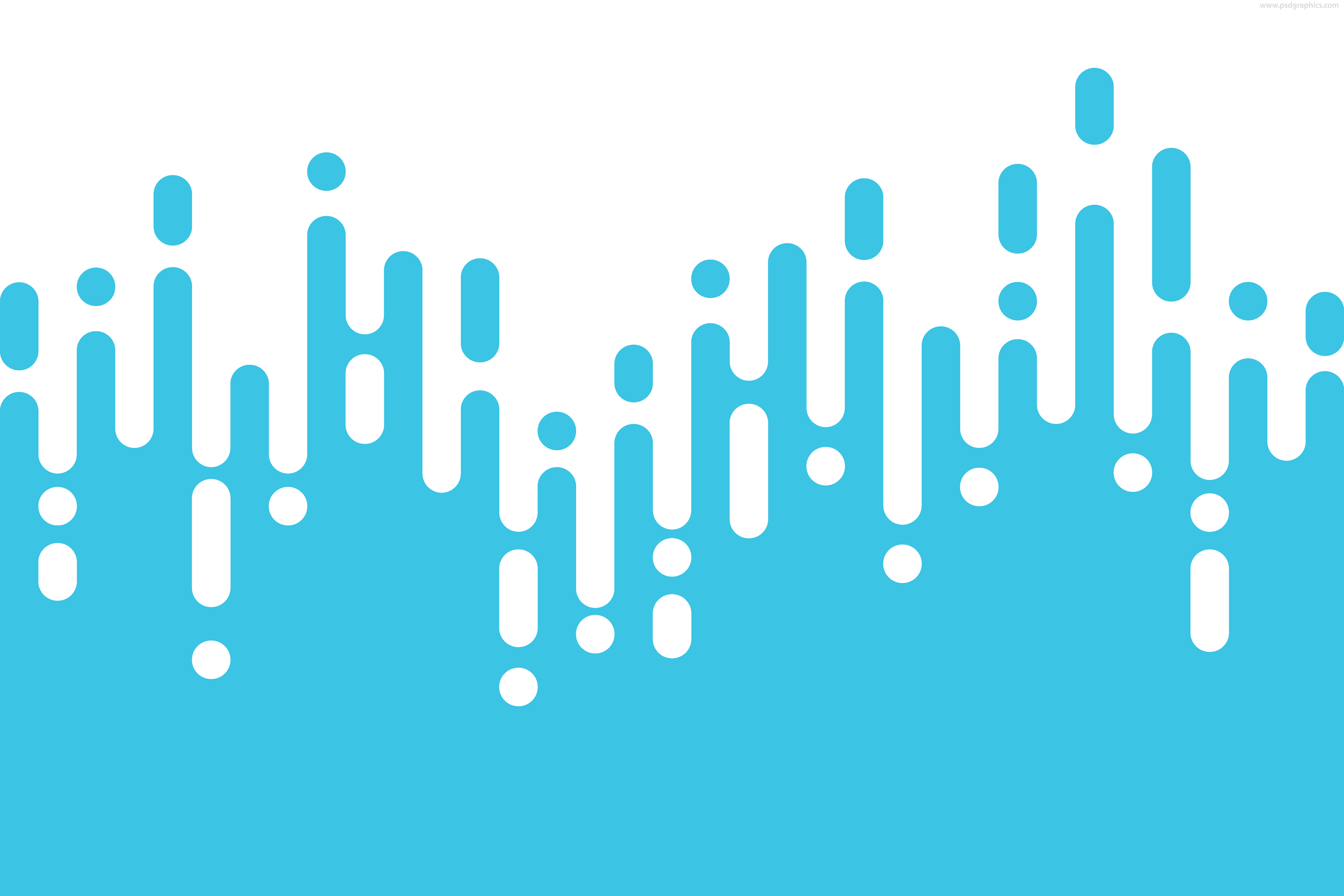 Rounded lines vector pattern.
