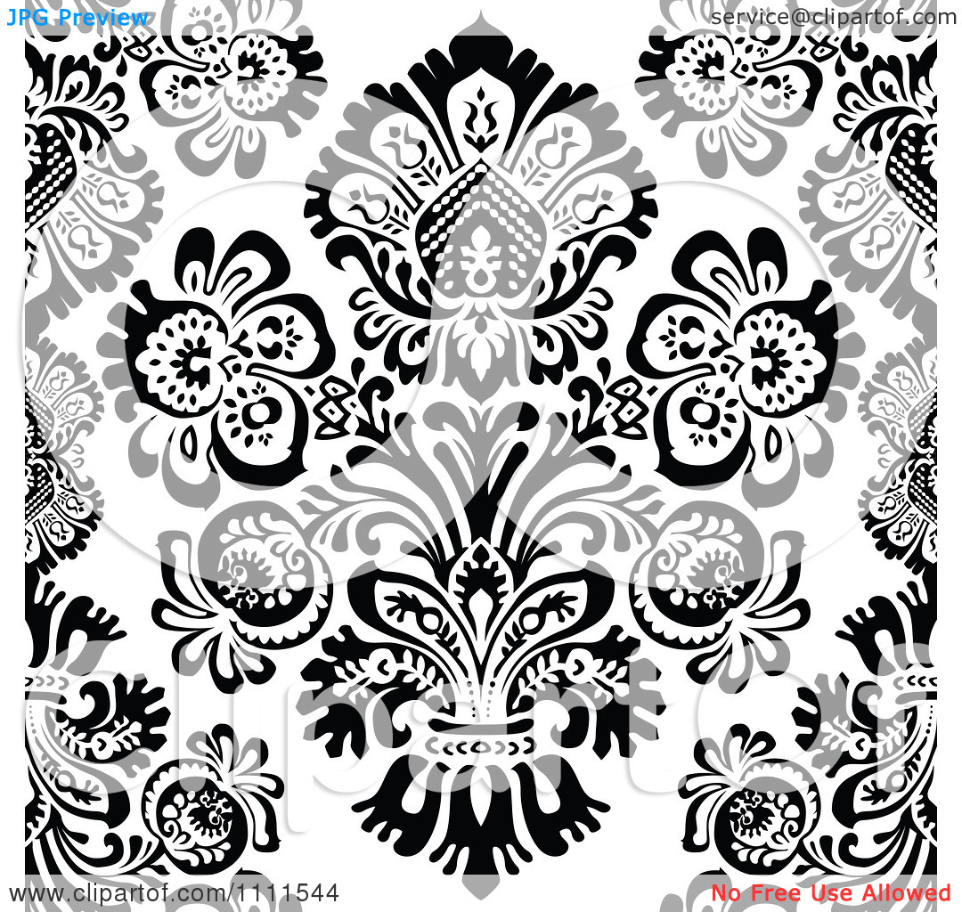 Patterned clipart.