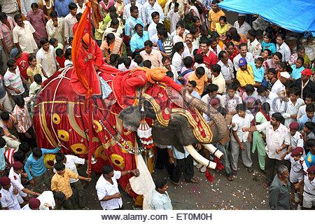 Elephant People India Stock Photos & Elephant People India Stock.