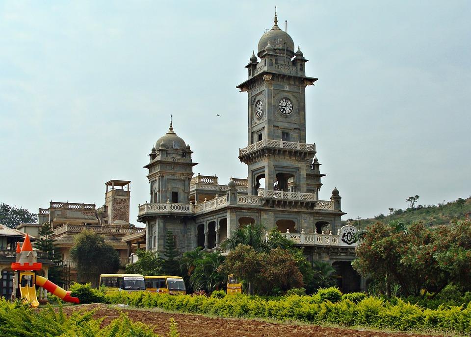 Free photo Building Patwardhan Palace Historical Palace Royal.