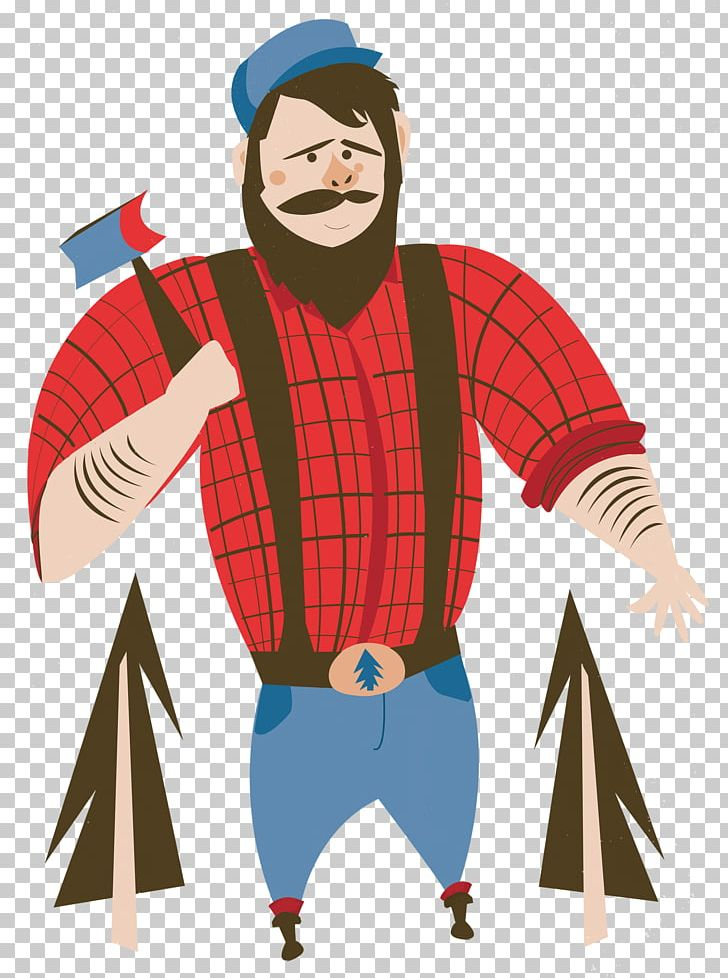 Paul Bunyan And Babe The Blue Ox Tall Tale PNG, Clipart, Art.