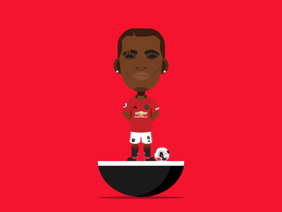 Paul Pogba designs, themes, templates and downloadable.