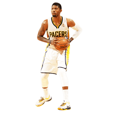 Paul George Ready transparent PNG.