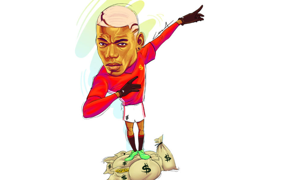 How to be…the flashy Paul Pogba.