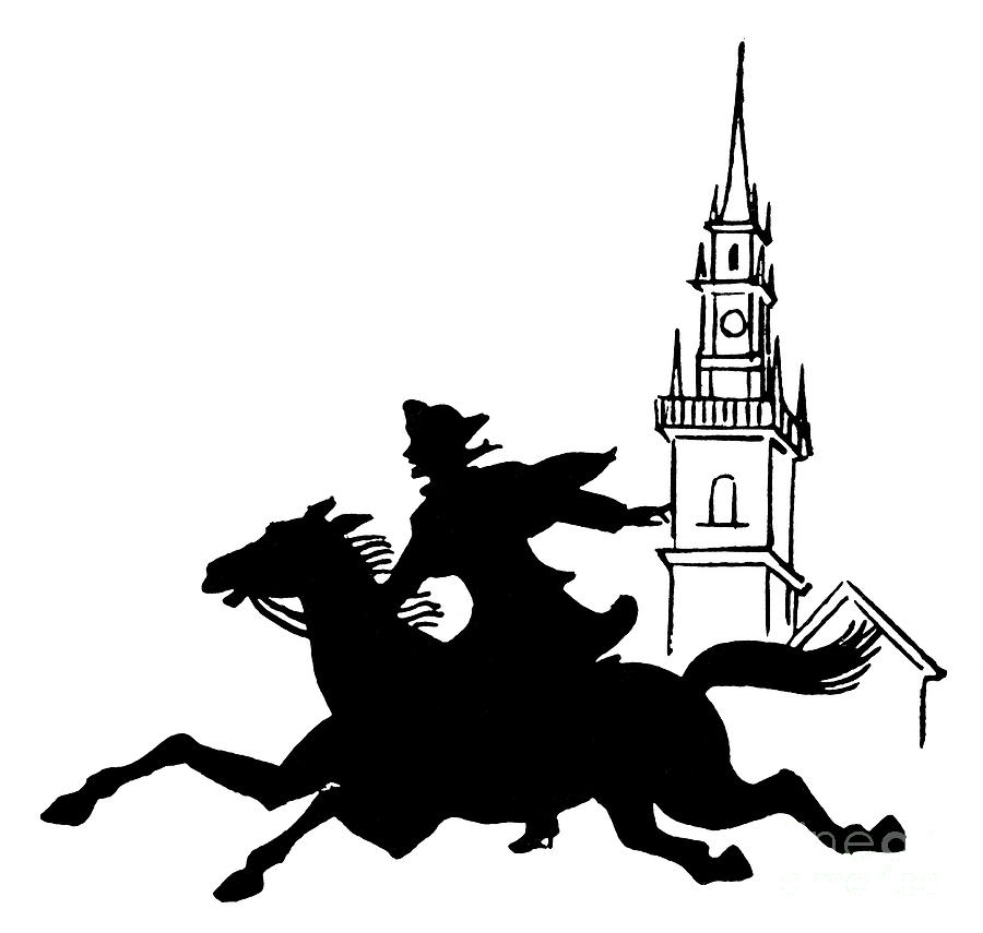 paul revere clipart clipground paul revere clipart Paul Revere's Ride
