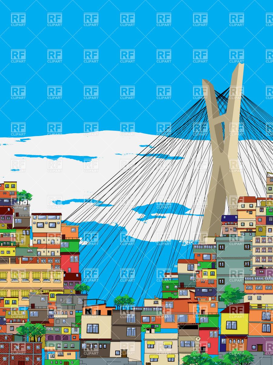Sao Paulo city landscape.