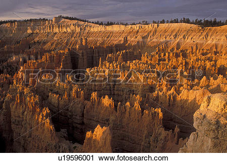 Stock Photography of Bryce Canyon, Bryce Canyon National Park.