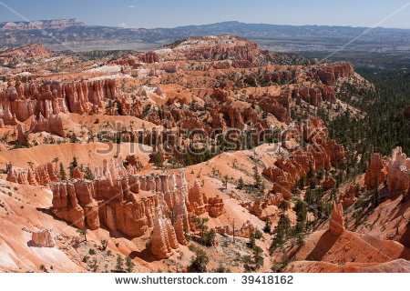 Vista Sunset Point Bryce Canyon National Stock Photo 92678758.