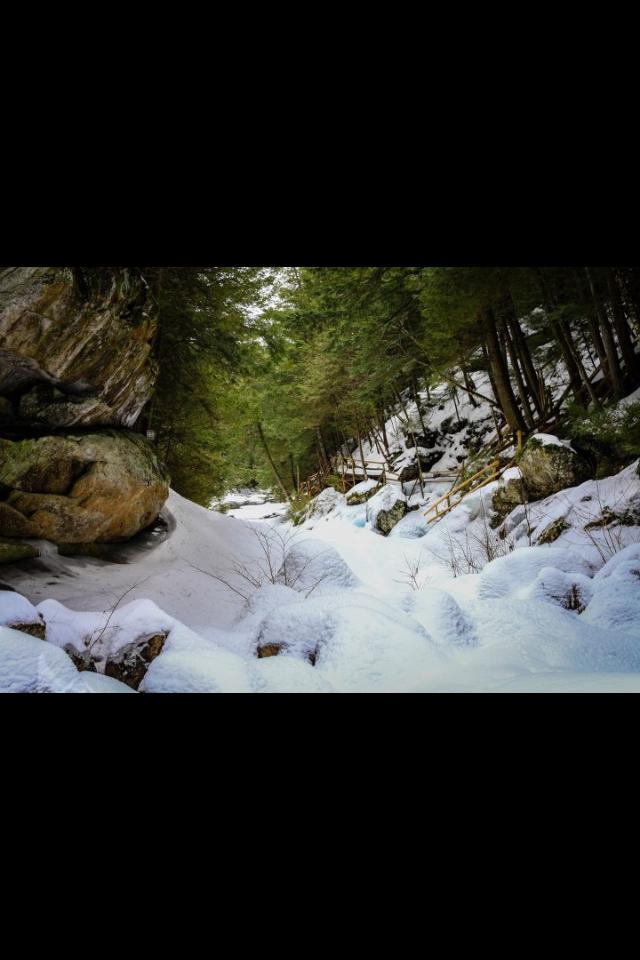 Natural Stone Bridge & Caves, Pottersville, NY.