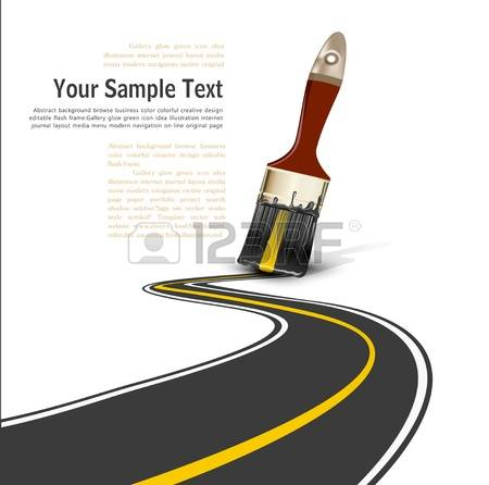 202 Paved Road Stock Vector Illustration And Royalty Free Paved.