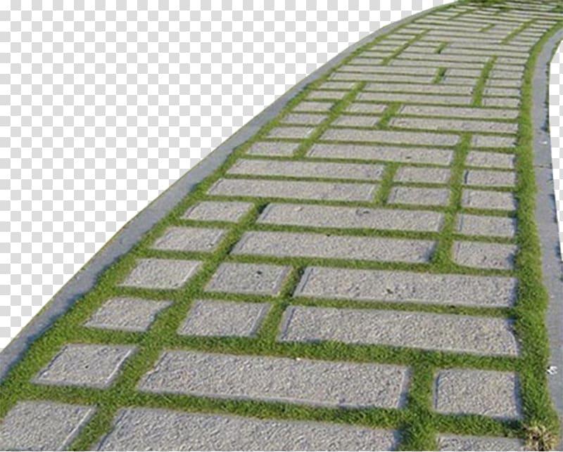 Gray concrete path , Stone Pavement Soil, Stone floor.