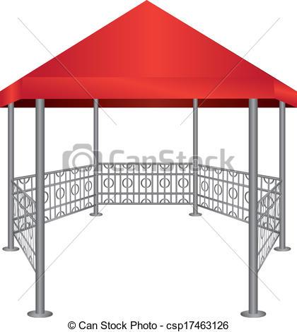 Pavilion Clip Art.