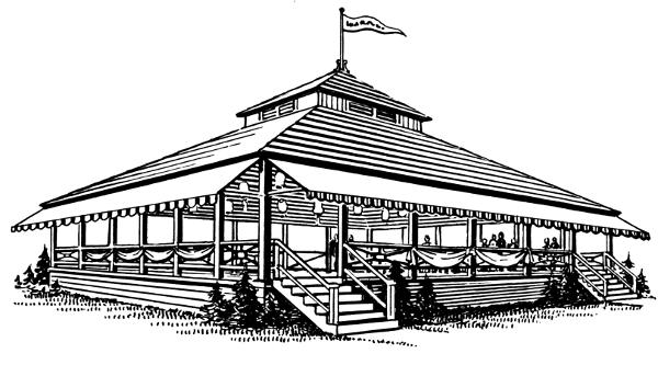 Pavilion Clipart.