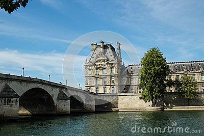 Royal Bridge, Paris Royalty Free Stock Photos.