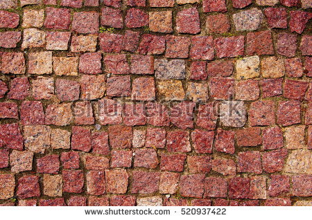 Paving of red square clipart #11