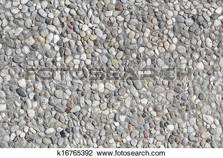 Stock Photo of Abstract background paving consisting of small.