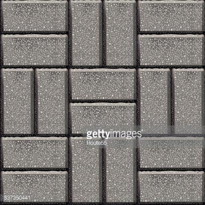 Pavement stone tiles Clipart Image.