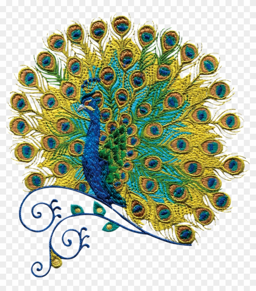 Stitch Quilling Peacock Transprent Png Free Download.