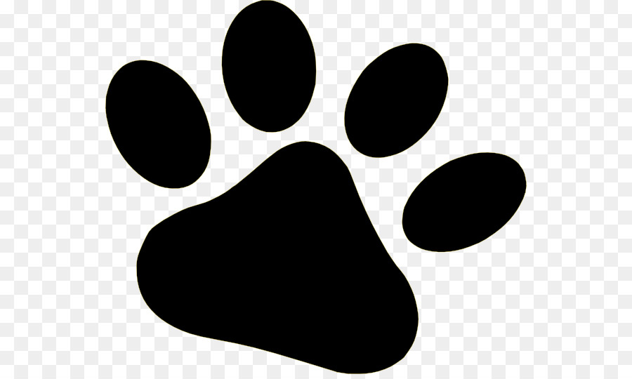 Dog paw clipart black and white 2 » Clipart Station.