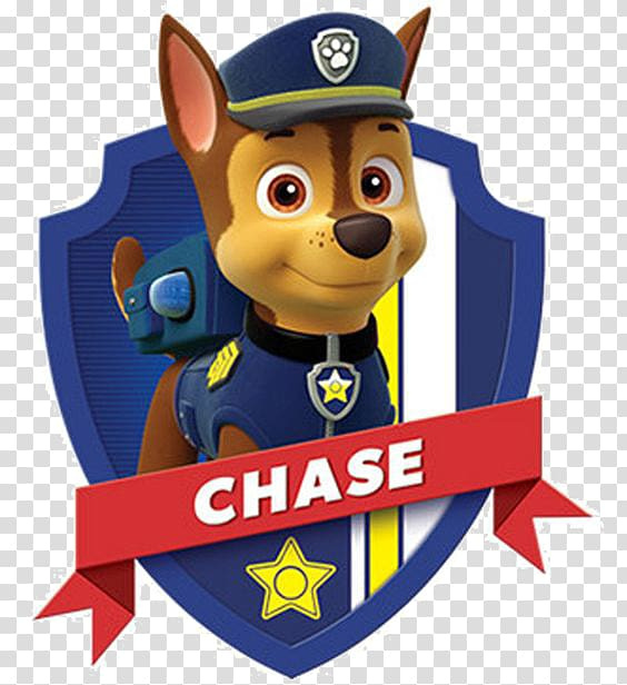 Paw Patrol Chase, German Shepherd Puppy Police officer.