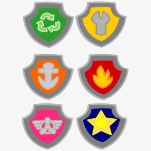 PNG Paw Patrol Badges Cliparts & Cartoons Free Download.