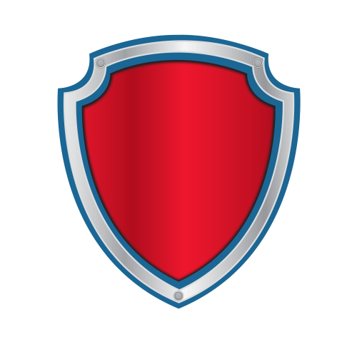 Paw Patrol Badge Png Vector, Clipart, PS #741244.