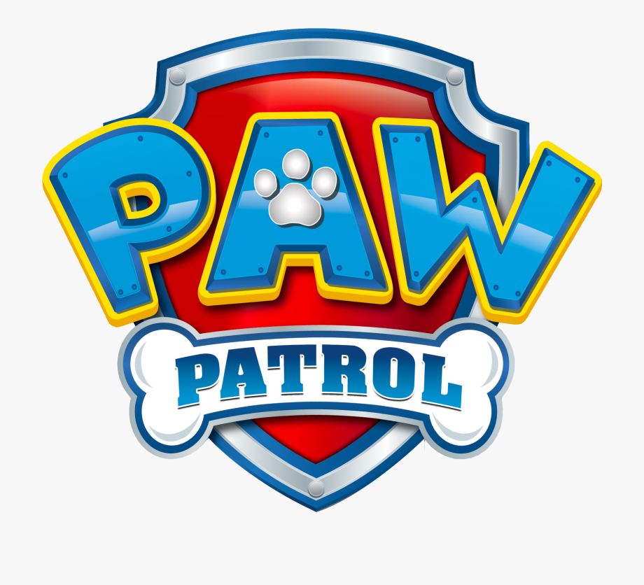 Paw Patrol Badge Clipart.
