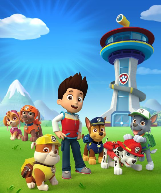 Paw patrol clipart PNG.