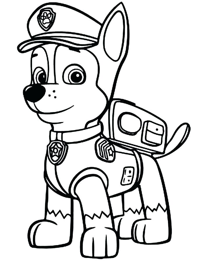 Collection of Paw patrol clipart.