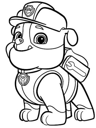 Paw patrol clipart black and white 2 » Clipart Portal.