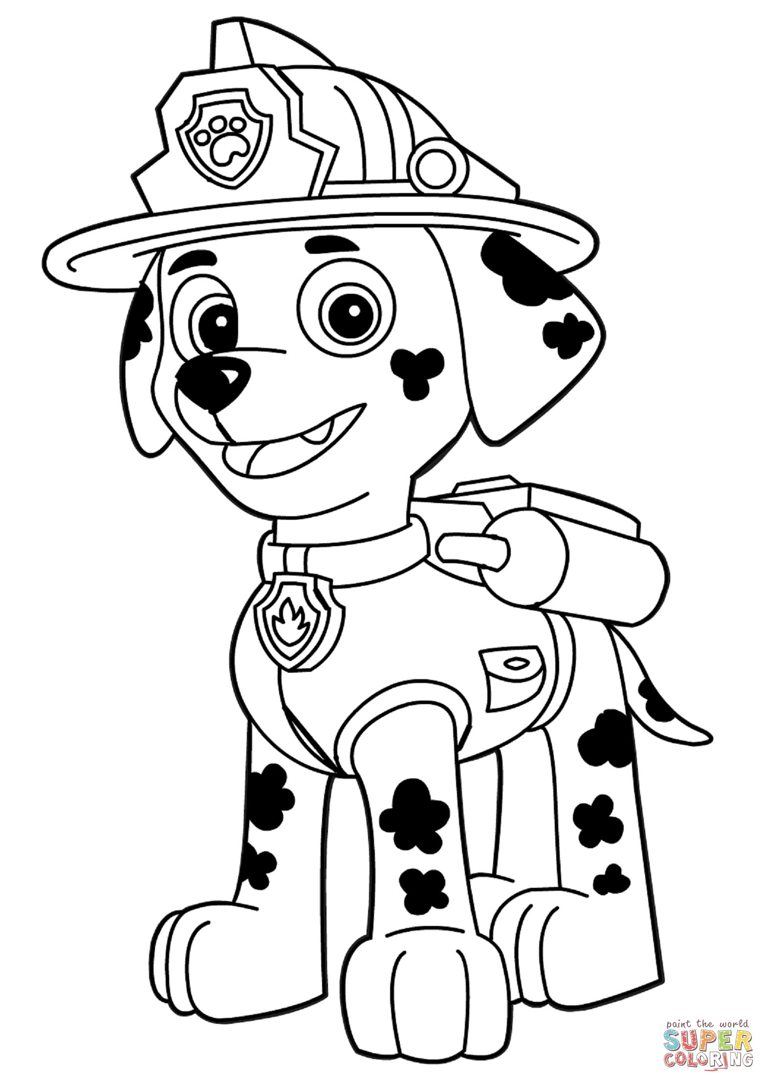 Image Result For Paw Patrol Clip Art Black And White.