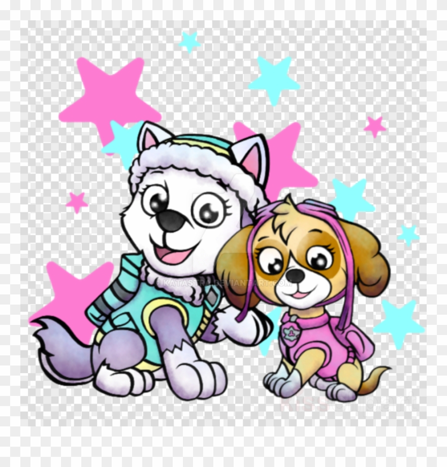Download Paw Patrol Girls Clip Art Clipart Puppy Decorative.