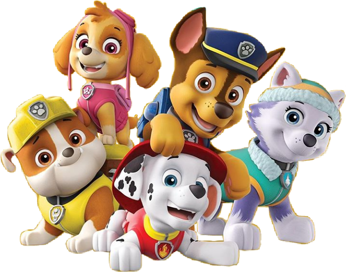 Paw Patrol All Character Png Kids 3.
