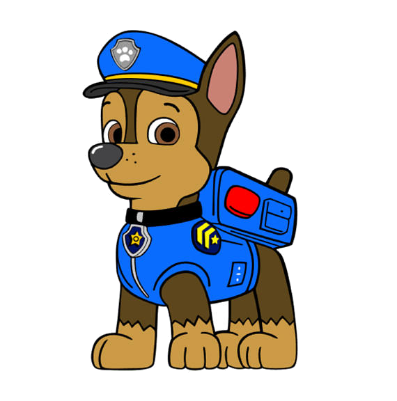 Paw Patrol Chase Silhouette At Free For Personal Transparent.