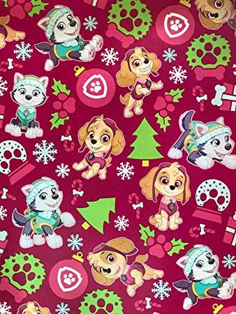 Amazon.com: Golden Gift Box Paw Patrol Christmas Wrapping.