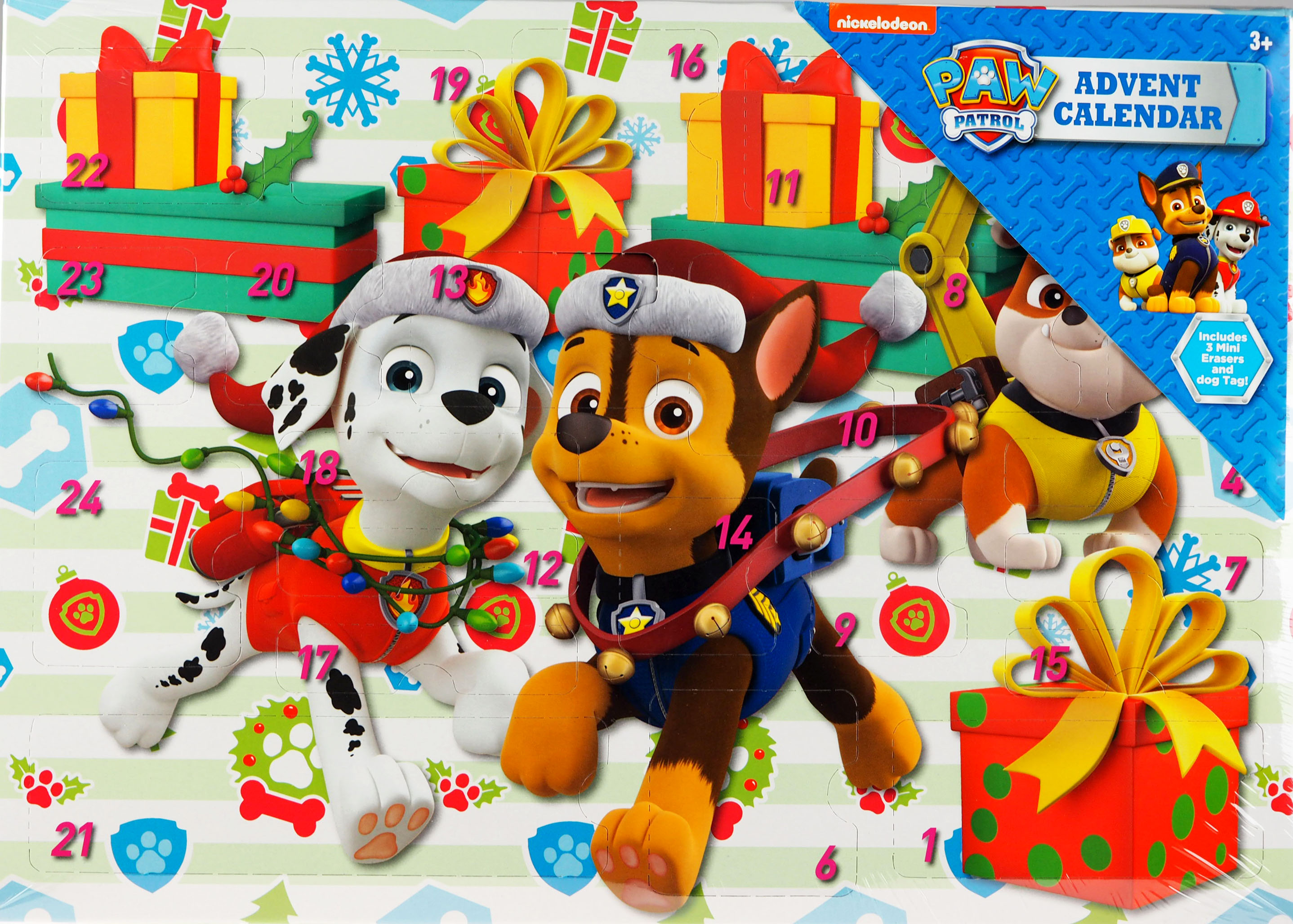 Details about Paw Patrol Christmas Toy & Stationery Treats Gift Advent  Calendar.