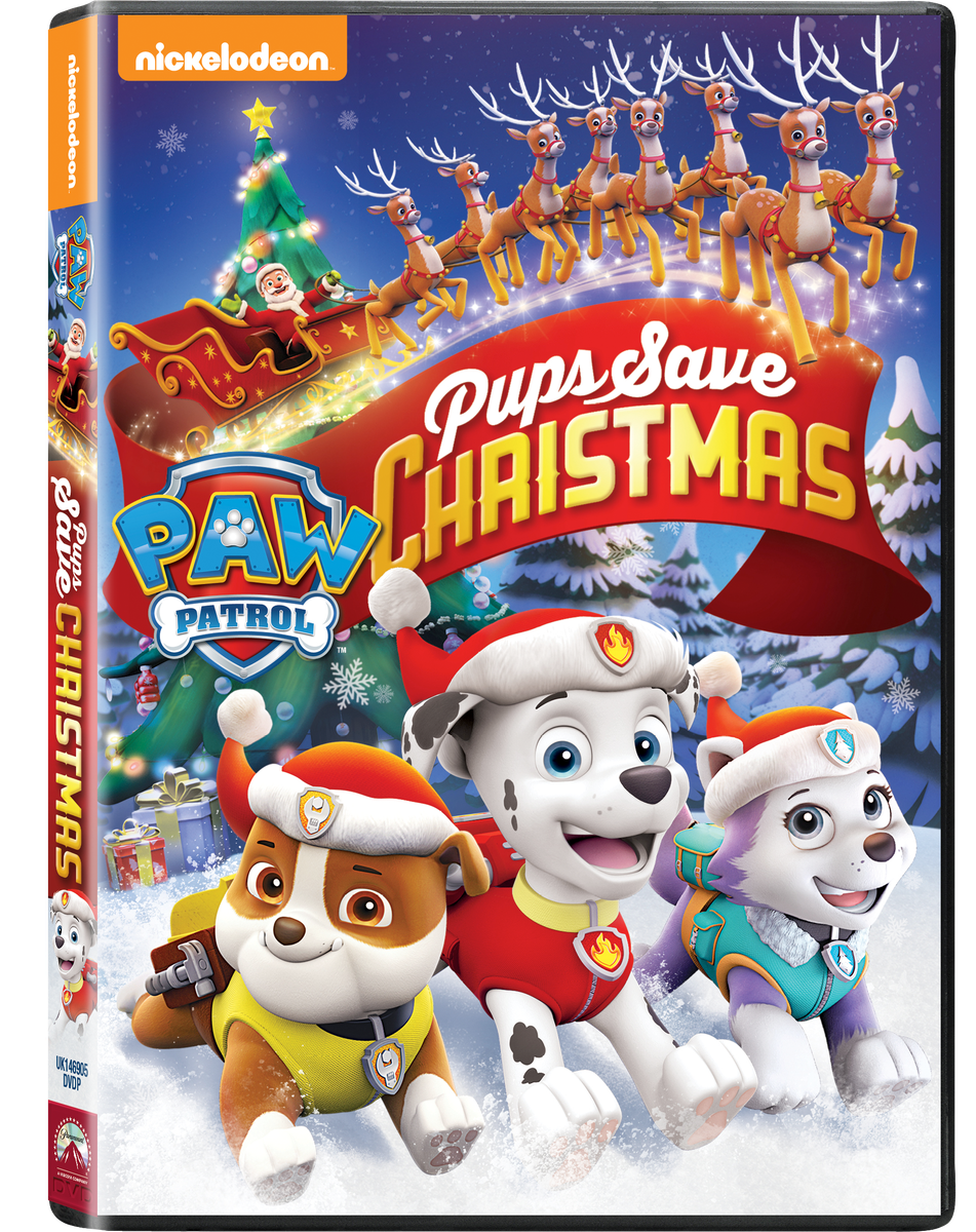 Paw Patrol: Pups Save Christmas (DVD).